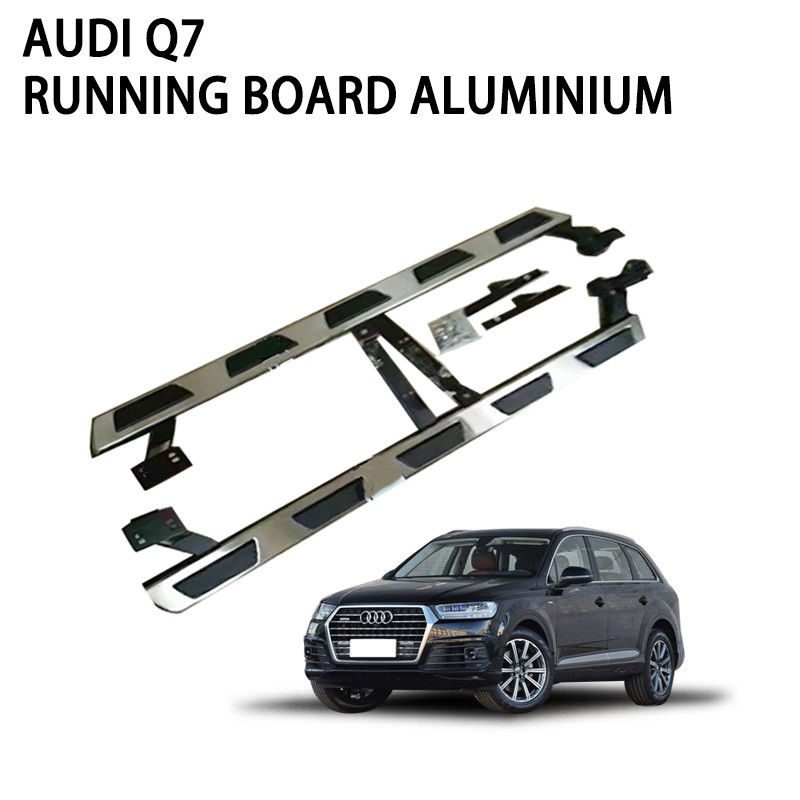 Audi Q7 Power Running Boards Harsh Weather Resistant High Strength
