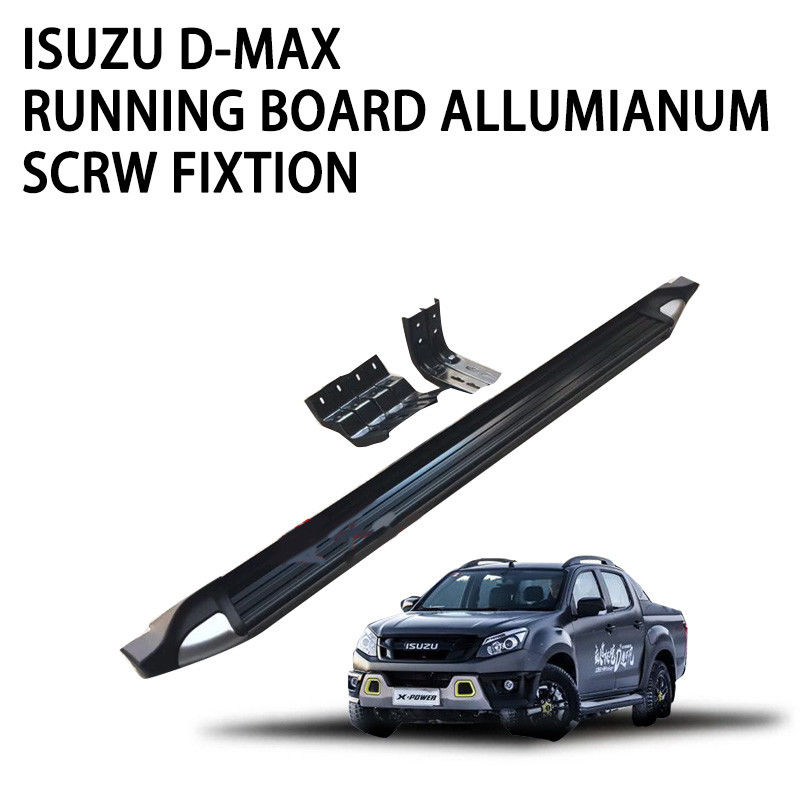 Stylish Pickup Truck Running Boards Oval Design Tubing Non Rusting